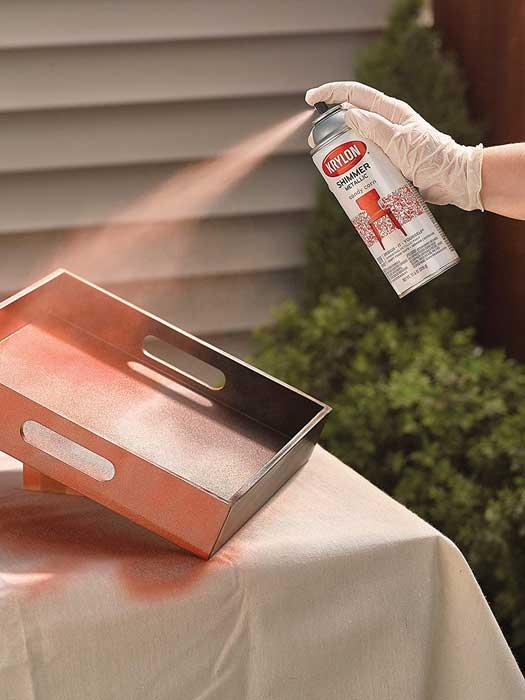 Metallic Silver Spray Paints