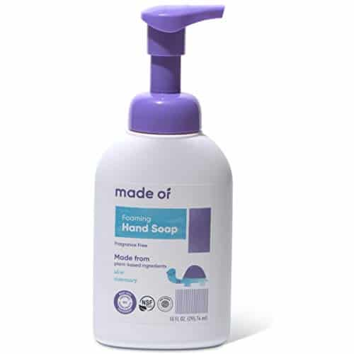 Organic Hand Soap By MADE OF - Dermatologist And Pediatrician Tested
