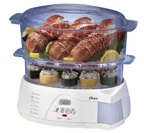 Oster 5712 Electronic 2-tier Food Steamer