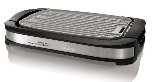 Oster Titanium Infused DuraCeramic Reversible Grill/Griddle