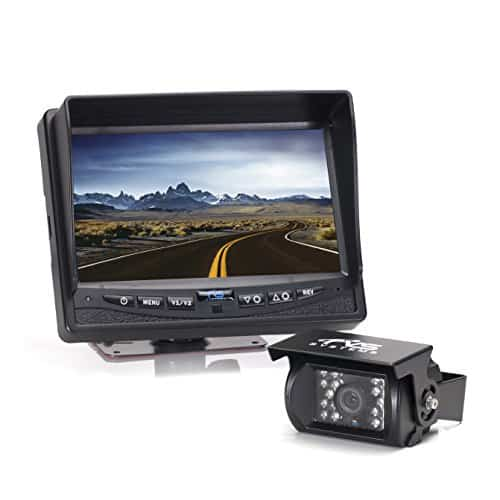 "Rear View Safety Backup Camera System with 7"" Display"