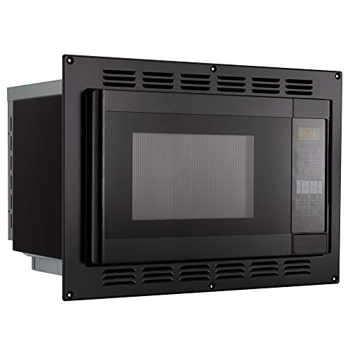RecPro RV Convection Microwave Black