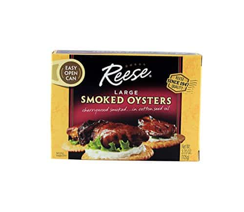 Reese Large Smoked Oysters