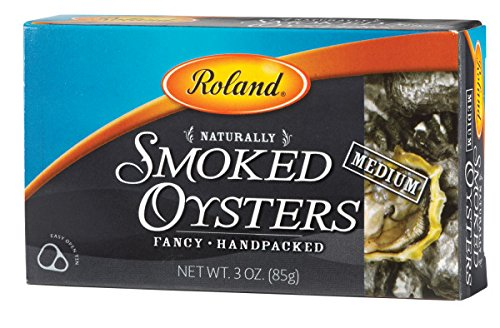 Roland Oysters, Medium Smoked Best for Snacks