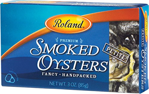Roland Oysters, Petite Smoked, 3 Ounce