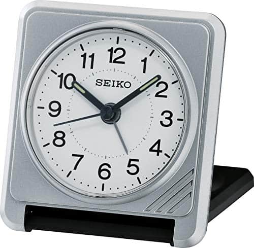 Seiko Clam Travel Alarm Clock