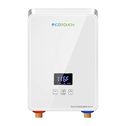 Tankless Water Heater Electric 240V, ECOTOUCH