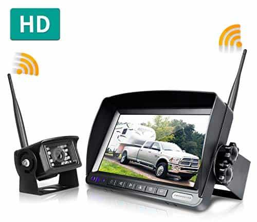 ZEROXCLUB Digital Wireless Backup Camera System Kit