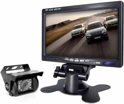 eRapta ER01 Backup Camera and 7 Inch Monitor