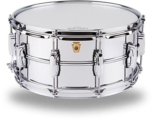 ludwig chrome supra-phonic snare drum
