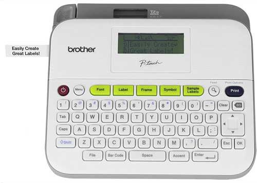 Brother Printer RPTD400 Versatile Compact Label Maker