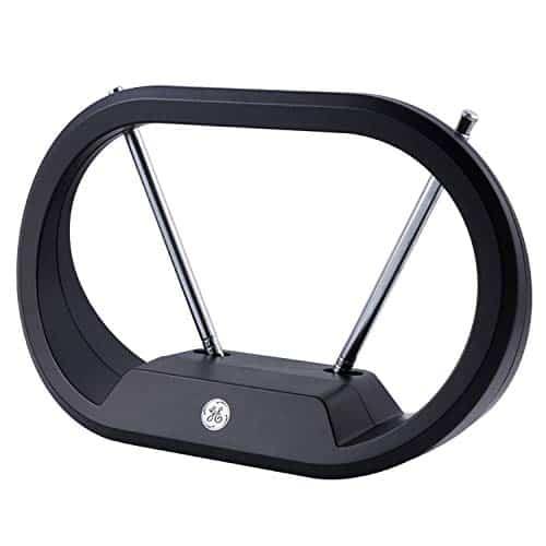GE UltraPro Modern Rabbit Ear Indoor Digital TV Antenna