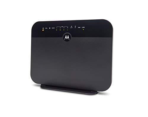 MOTOROLA VDSL2/ADSL2+ Modem + WiFi AC1600 Gigabit Router