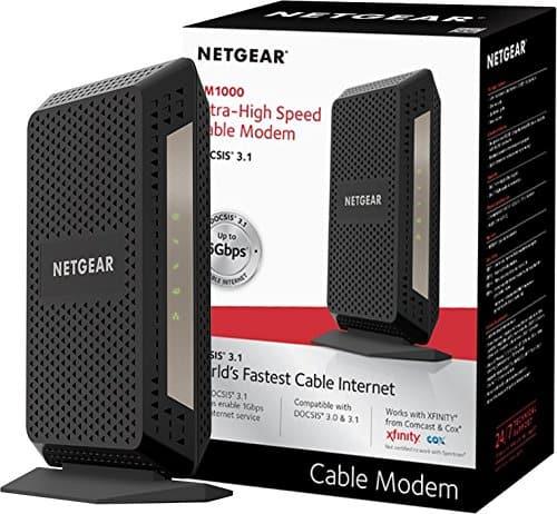 NETGEAR CM1000 DOCSIS 3.1 Gigabit Cable Modem