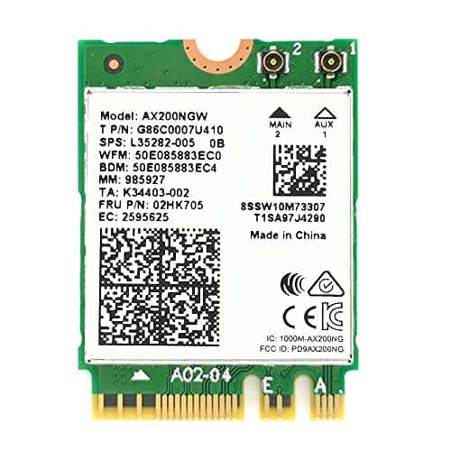 OIU WiFi 6 Intel AX200 WiFi Card