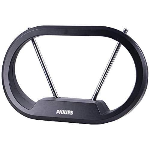 Philips Modern Loop Rabbit Ears Indoor TV Antenna