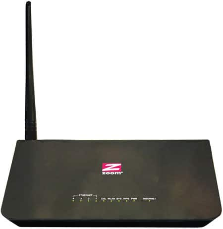 Zoom Telephonics ADSL WiFi Modem/Router