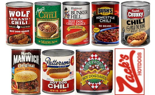 best canned chili for hot dogs