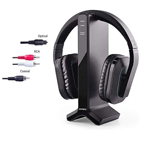 ANSTEN D1 Wireless Stereo TV Headphone