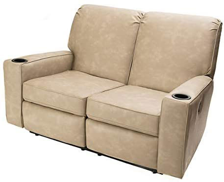 "Camper Comfort 58"" RV Theater Seat Recliner"