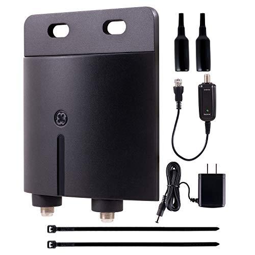 GE Outdoor TV Antenna Amplifier