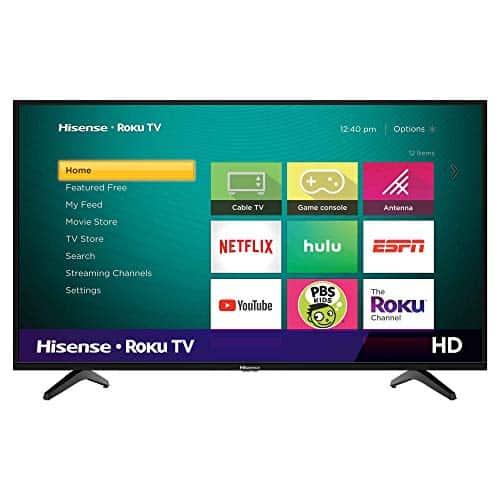 Hisense 32-Inch Class H4 Series LED Roku Smart TV