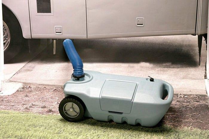 RV Portable Waste Tank