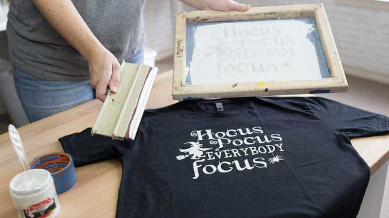 How To Screen Print T-shirts At Home