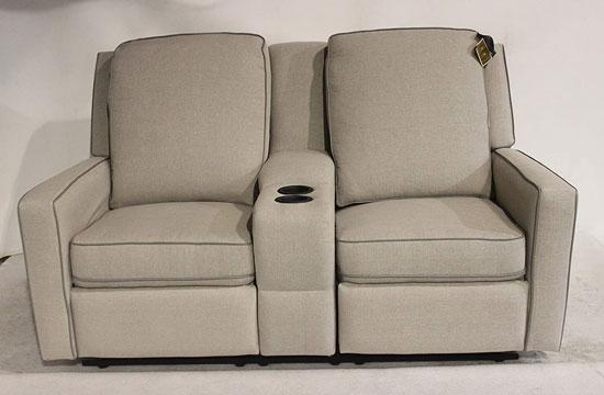 "La-Z-Boy 67"" RV Camper Double Recliner Couch"