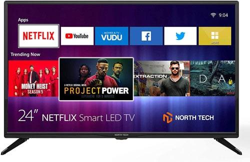 NT North Tech 24 Inch LED HD Smart TV