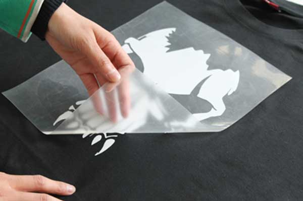 Print the design on transfer paper