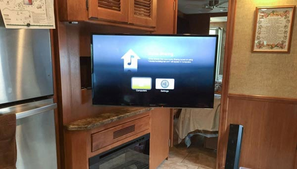 TV Mount For RV