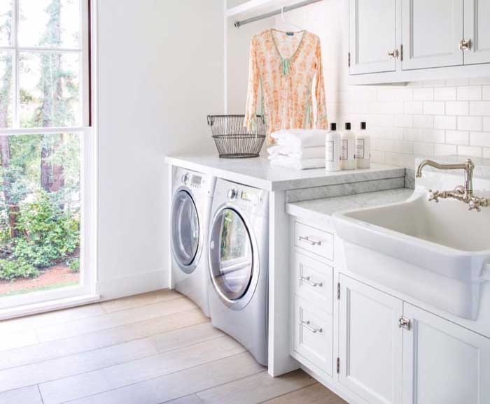 Install A Utility Sink Next To Washer