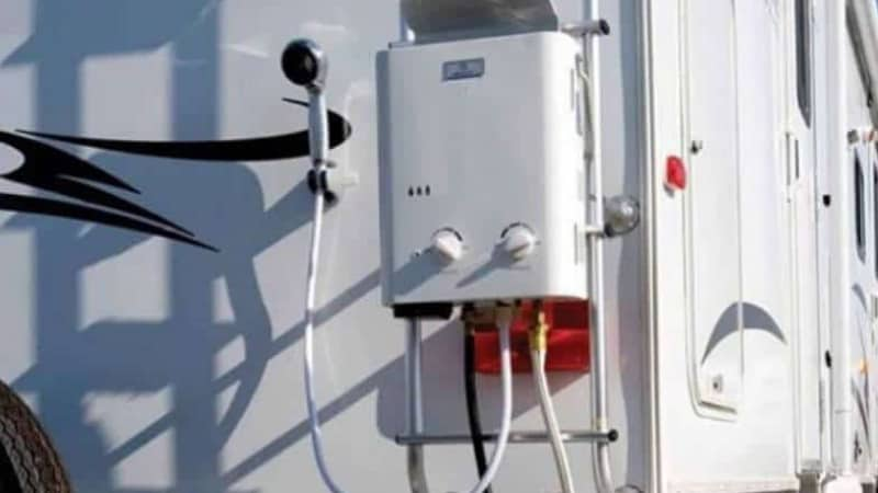 How to convert an RV water heater to tankless