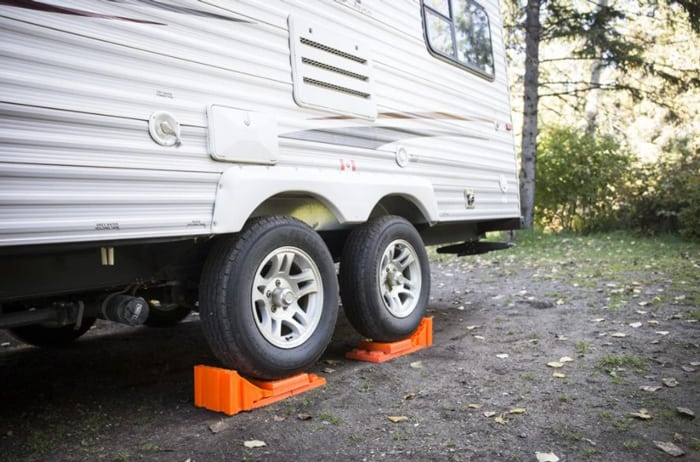 Levelling your RV